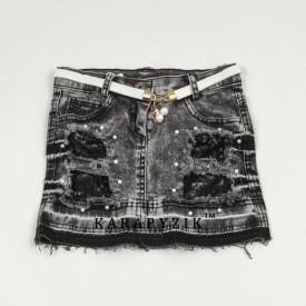 Юбка джинс дев. 15292