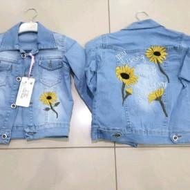 Куртка джинс дівчинка 39385