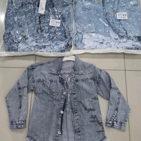 Куртка джинс дівчинка 39975