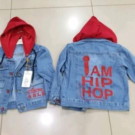 Куртка джинс дівчинка 39066