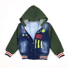 Куртка джинс хл.на махрі. 25287