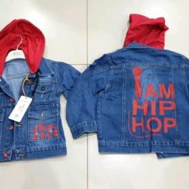 Куртка джинс дівчинка 39065