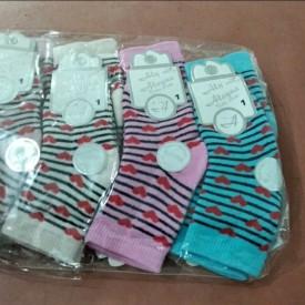Носки на махрі  дівчинка 12 шт. 35755