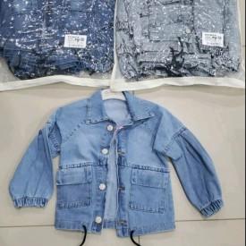 Куртка джинс дівчинка 39974