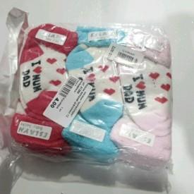 Носки махрові дівчинка 12 шт. 41289
