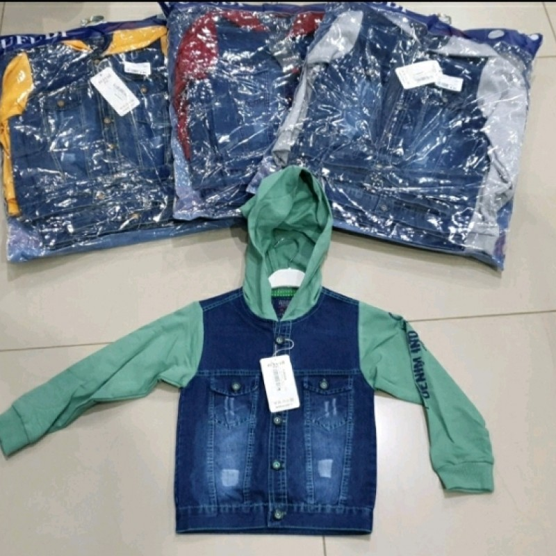 Куртка джинс хлопчик 39895