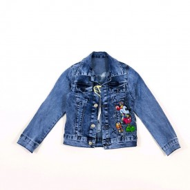 Куртка джинс дівчинка 28054