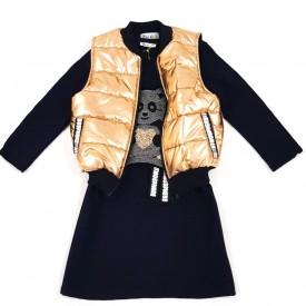 Куртка + платя дівчинка 25465