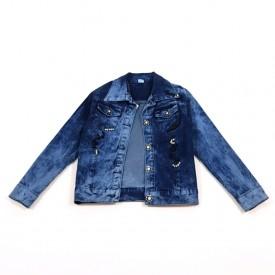 Куртка джинс дівчинка 27124