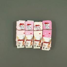 Носки махрові дівчинка 12 шт. 30506