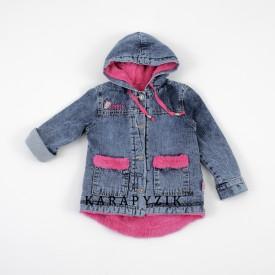 Куртка джинс на травці дівч 28005
