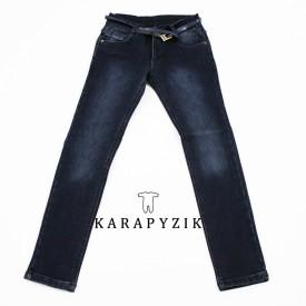 Штани джинс на флісі дівчинка 26035