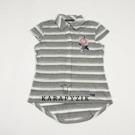 Рубашка девочка к.р. 15750