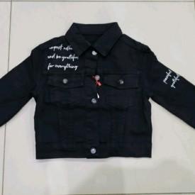 Куртка джинс дівчинка 41342