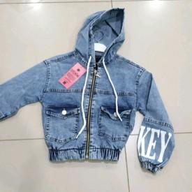 Куртка джинс дівчинка 40147