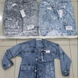 Куртка джинс дівчинка 39976