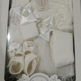 Набір новонародженого вілюр дівчинка 42700