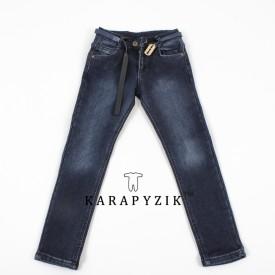 Штани джинс на флісі дівчинка 80043