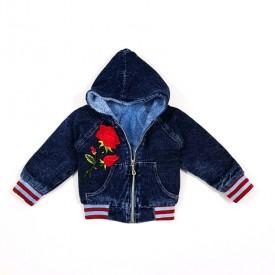 Куртка дів.джинс на махрі 25284