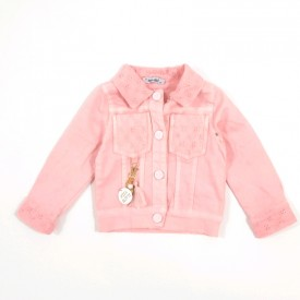 Куртка джинс дівчинка 31508