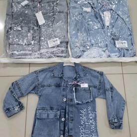 Куртка джинс дівчинка 39977