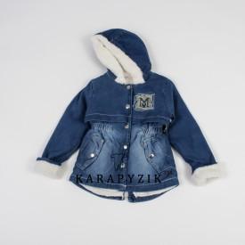 Куртка дж.девочка 19835