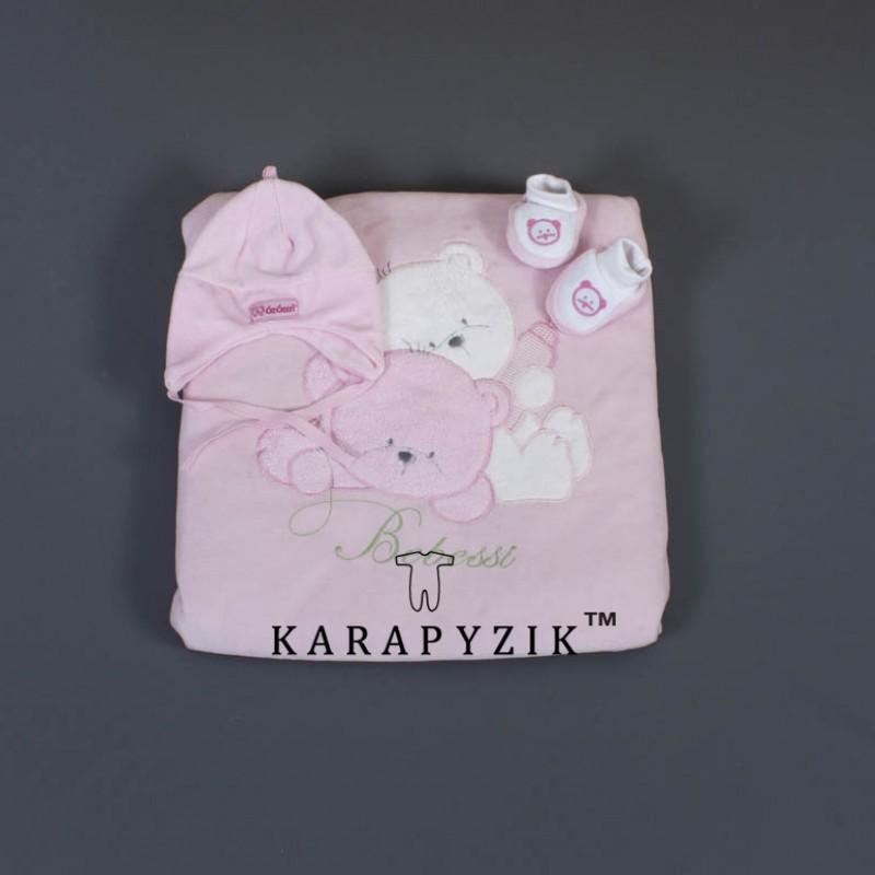 Одеяло-конверт  велюр 17619