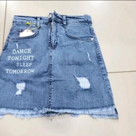 Спідниця джинс дівчинка 39031