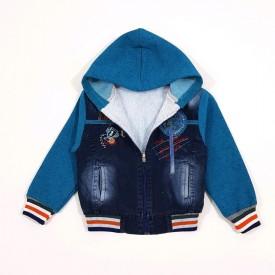 Куртка джинс хл.на махрі. 25286