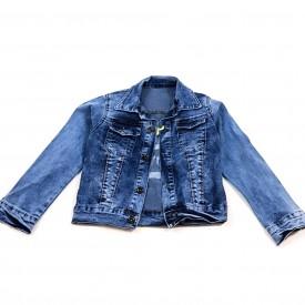 Куртка джинс дівчинка 28053