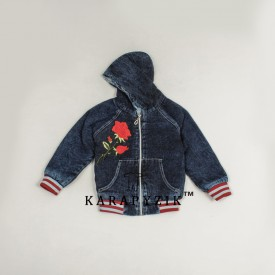 Куртка джинс дев.трав. 13269