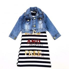 Плаття + куртка дівчинка 32273