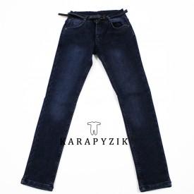 Штани джинс на флісі дівчинка 26036