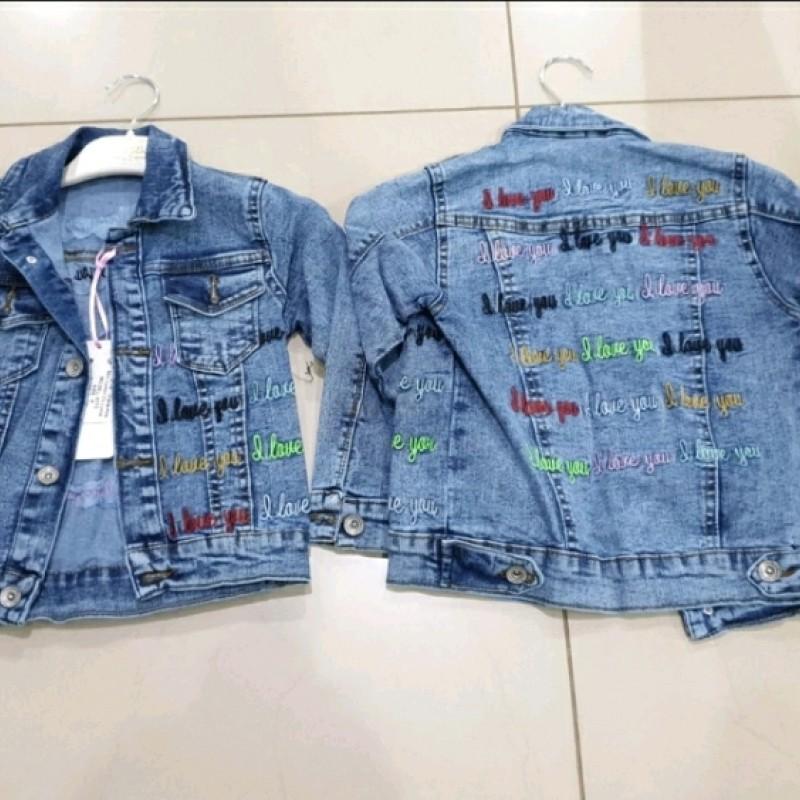Куртка джинс дівчинка 39388
