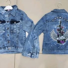 Куртка джинс дів. 40216