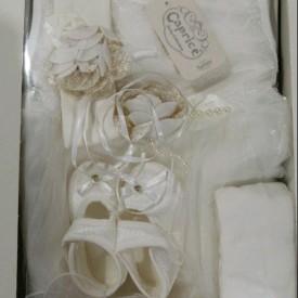 Набір новонародженого вілюр дівчинка 42707