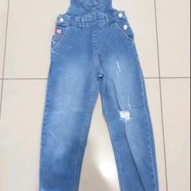 Комбез джинс дівчинка 39269