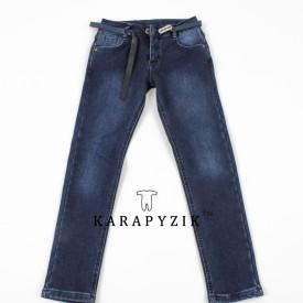 Штани джинс на флісі дівчинка 80042