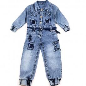 Комбез джинс дівчинка 31896