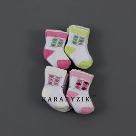 Носки махрові дів 12 шт. 30118