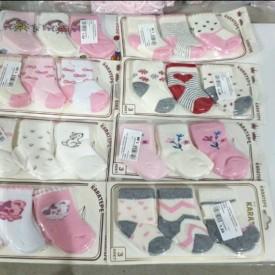 Носки махрові дівчинка 3 шт. 41859