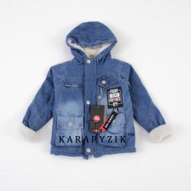 Куртка дж на махрі дів 27893