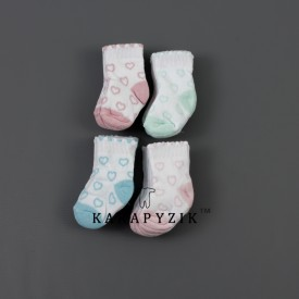 Носки махрові дів 12 шт. 30128