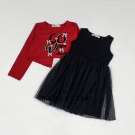 Платье 2-ка  девочка 19113