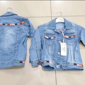 Куртка джинс дівчинка 39391