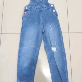 Комбез джинс дівчинка 39271