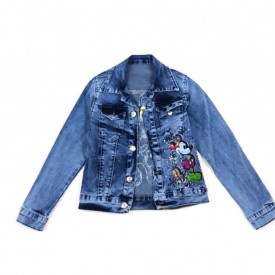 Куртка джинс дівчинка 28052