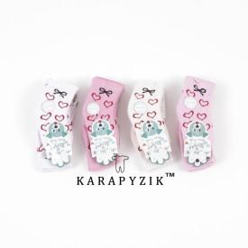 Носки на махрі дівч 12 шт. 28249