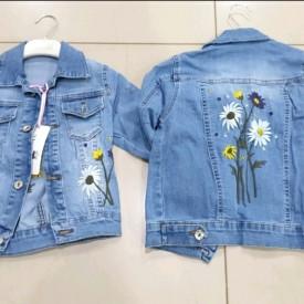 Куртка джинс дівчинка 39382