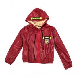 Куртка еко шкіра дівчинка 32301
